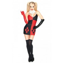 Kostým Super Villian Harley Quinn Batman