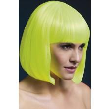 Paruka Elise neonová žlutá