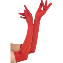 Rukavice dlouhé červené I