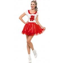 Dámský kostým Sandy Cheerleader Pomáda