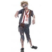 Dětský kostým Zombie školák Halloween l