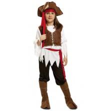 Dětský kostým Pirátka 1