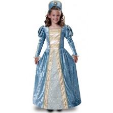 Dětský kostým Princezna modrá