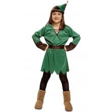Dětský kostým Lady Robin Hood