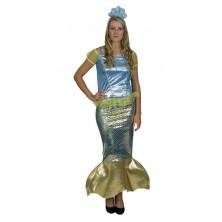 Dámský kostým Mořská panna