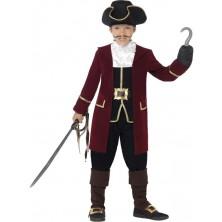 Dětský pirátský kostým kapitán