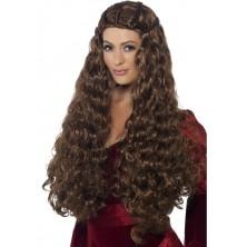 Dámská paruka Medieval princess