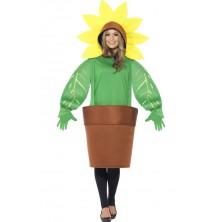 Dámský kostým Slunečnice