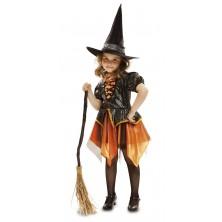 dívčí kostým Čarodějnice