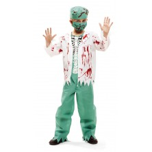 Dětský kostým Zombie doktor Halloween