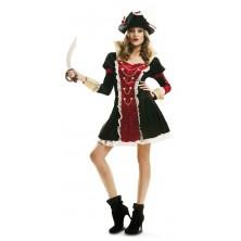 Dámský kostým Pirátka royal deluxe
