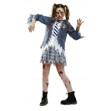 Kostým Zombie školačka Halloween