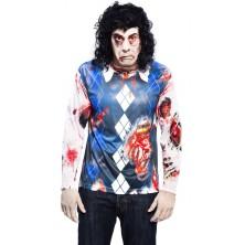 Tričko 3D Zombie boy Halloween