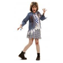 Dětský kostým Zombie školačka Halloween