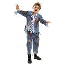 Dětský kostým Zombie školák Halloween