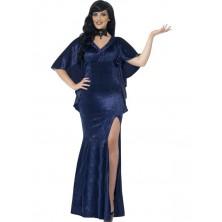 Kostým Čarodějnice modrá