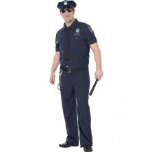 Pánský kostým NYC policista