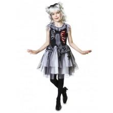 Dětský kostým Zombie dáma Halloween