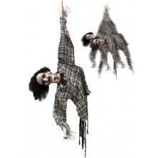 Strašidlo zombie na Halloween
