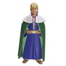 Dětský kostým Tři králové modrý
