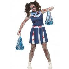 Kostým Zombie cheerleader Halloween