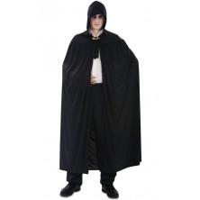 Plášť s kapucí černý I
