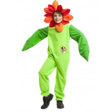 Dívčí kostým Květina s beruškou