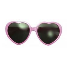 Brýle Srdce růžové