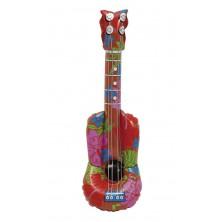 Nafukovací kytara červená