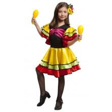 Dívčí kostým Tanečnice rumby