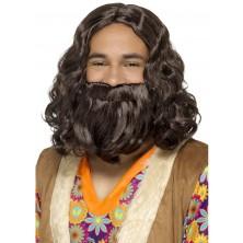 Paruka a vousy Ježíš