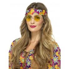 Brýle Hippie žluté