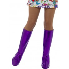 Návleky na boty fialové