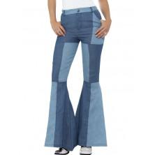 Kalhoty Hippie, dámské patchwork