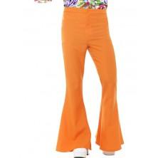 Kalhoty Hippie oranžové pro dospělé