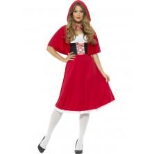 Dámský kostým Červená Karkulka I