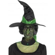 Čarodějnický nos latexový