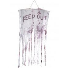 Závěs do dveří Keep out