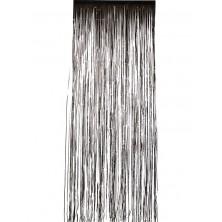 Závěs do dveří 91x244 cm černý