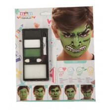Make up Sada Hulk