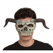 Obličejová maska Čertovská lebka
