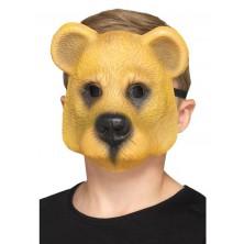Obličejová maska Medvěd dětská