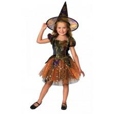 Dětský kostým Čarodějnice VI