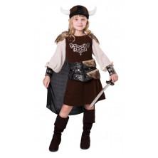 Dívčí kostým Vikingská slečna