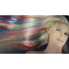 Metalická barva na vlasy 15 ml