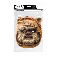 Papírová maska Ewok I