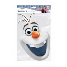 Papírová maska Sněhulák Olaf II