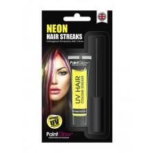 Barva na barevné pruhy vlasů UV