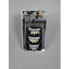 Zuby Zombie 3 ks Halloween
