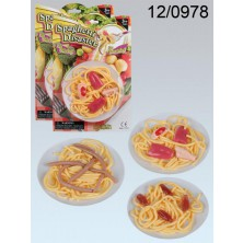 Hororový talíř Špagety s překvapením